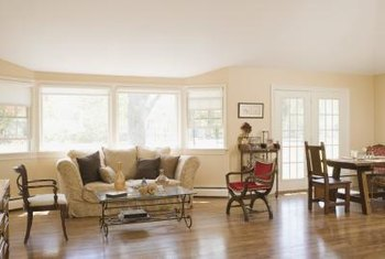 Hardwood floors provide an entirely different look and feel than carpet.