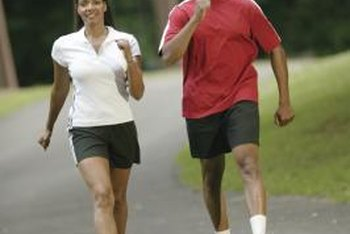 Walking briskly can be a full-body workout.