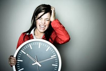 A clock falling off the wall can cause serious injuries.