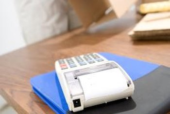 Manual accounting systems typically include a ledger and adding machine.