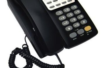 Businesses use cold calls to reach prospective customers.