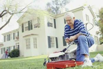 Starter rope repair shouldn't delay your lawn mowing for long.