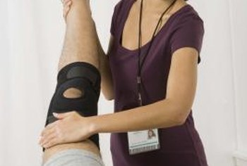 Sports injury therapists prevent, diagnose and treat athletic injuries.