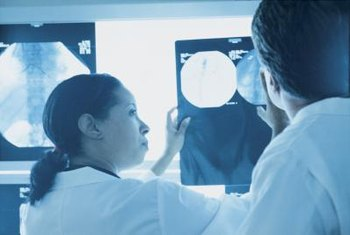 Radiologists help other doctors to interpret the results of diagnostic images.