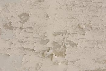 A shower ceiling can peel for a number of different reasons.