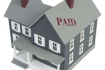 You must pay off the loan, plus fees, to redeem a mortgaged home.