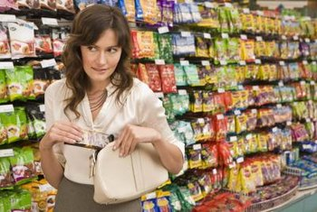 Shoplifting contributes to inventory shrinkage.