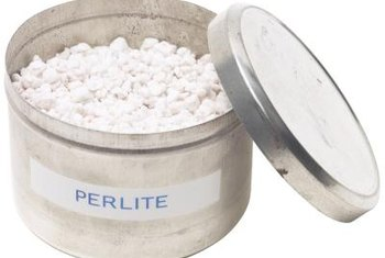 Perlite is suitable as a hydroponic aggregate.