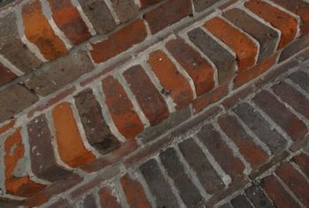 Remove all loose mortar and clean joints before applying new mortar.
