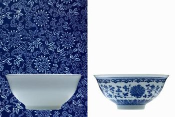 Delft blue gets its name from the Dutch pottery.