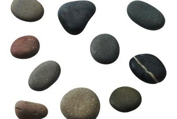 Rocks are an attractive alternative to sod.