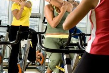 A cycling class is good cross-training for regular treadmill users.