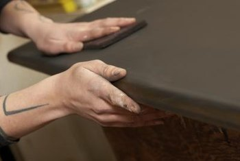 Consider using a liquid sanding product for your next furniture refinishing project.