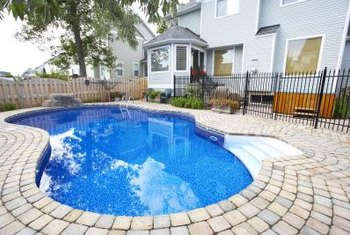 You can effectively clean the tile grout of your swimming pool.
