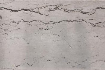 Loose and cracked wall plaster can be repaired.