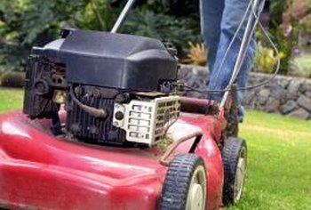 Using a sharp mower blade helps keep your lawn healthy.