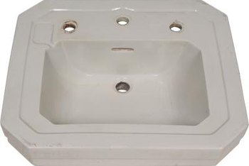 Refinish your ceramic sink rather than buying a new one.