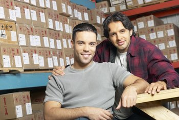 Warehouse staff are key operatives in the supply chain.
