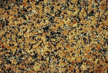 Granite is porous and holds onto stains tightly.