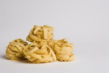 Pasta is a prime example of a starchy carbohydrate.