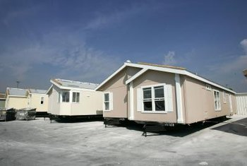 Manufactured homes are found on a nationwide network of dealer lots.