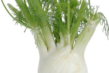 Chop the fennel fronds to use as garnish.