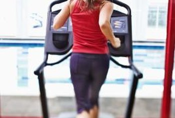 Treadmills with TVs are a staple at most fitness centers.