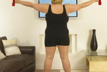Wobbly underarms can be improved with exercise and diet.
