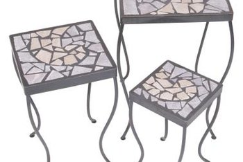 Tile makes tables as durable as they are beautiful.