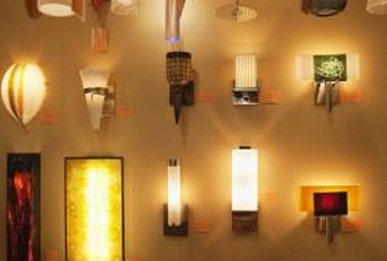 Wall lights make excellent accent lights in large rooms or provide space-saving ambient light in a foyer or hallway.