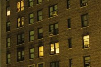 Subsidized housing partly consists of goverment-owned apartment complexes.