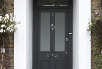 An attractive front entrance helps maintain your home's value.