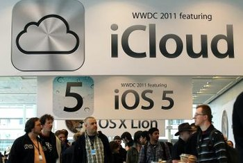 Version 5 of iOS added support for iCloud cloud storage.