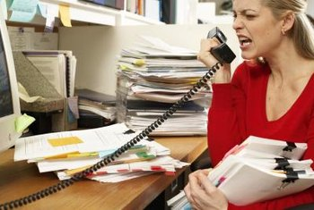 A volatile employee could cost your company business.
