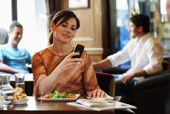 Wi-Fi provides convenience for customers in a coffee shop.