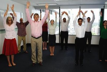 Team building activities are a fun way to increase workplace morale.