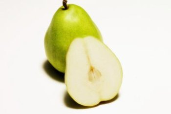 Moonglow pears are juicy and have a mild flavor and smooth texture.