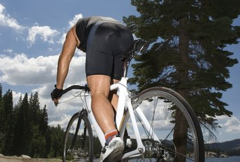 Cycling uphill requires you to be in your lowest gear ratio.