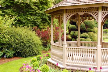 A detached gazebo can be considered a freestanding structure.