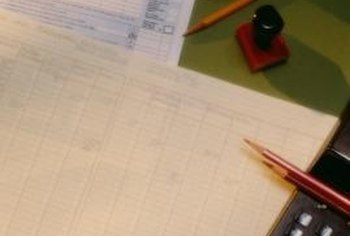 Spreadsheets take the place of old-fashioned ledgers.