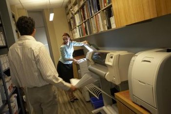 The office print room is full of machines using ink toner. Is there a toxicity hazard?