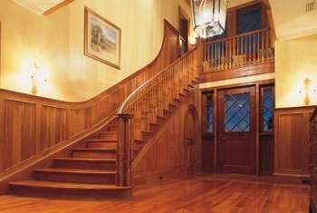 Refinished floors can improve the interior of a house.