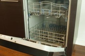 Repair your leaky dishwasher before it ruins your kitchen floor.