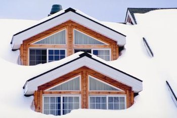 Condensation can cause windows to freeze.