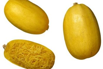 Spaghetti squash noodles look similar to pasta.