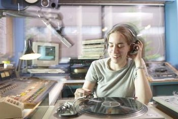 Some radio sales workers sell commercials announced by DJs.