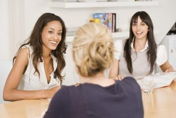 Maintain eye contact with your interviewers throughout the meeting.