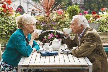 Fluid intake is a concern for the elderly.