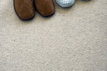 Carpet wears down over time and has a useful life of seven to 10 years.