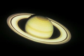 Saturn has 53 discovered moons as of the publication date.